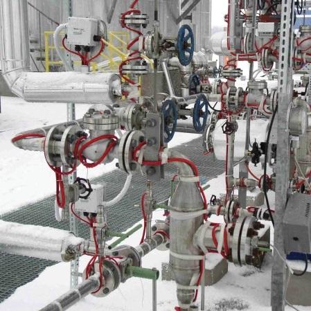 Trazas Eléctricas para Calentamiento